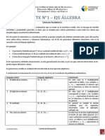 APUNTE N° 1 - EJE ÁLGEBRA