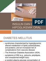 INSULIN Dan Obat Hipoglikemik Oral