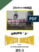 Proyecto Educacion Alimentaria Cabana