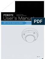 Manual de Usuario VIVOTEK FD8372