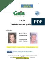 Material bibliográfico de Derecho Sexual y Violencia de Genero