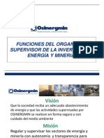 1 Funciones Del Organismo Regulador en El Sector Energia