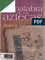 Johansson Patrick La Palabra de Los Aztecas