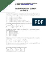 Exercicios Funcao Quimica Organica