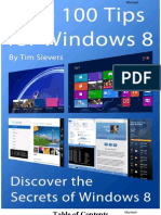 Top 100 Tips for Windows 8 Discover the Secrets of Windows 8