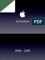 Apple Summation