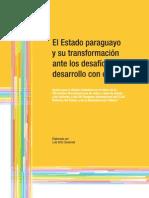 El Estado paraguayo y su transformación ante los desafíos del desarrollo con equidad