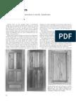 Woodworking Techinque - Doors
