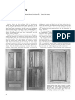 Woodworking Techinque - Doors