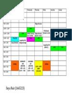 Timetable 2012 - academic
