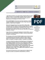 Boletín UNAM. Obesidad