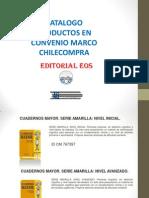 Catálogo EOS Convenio Marco