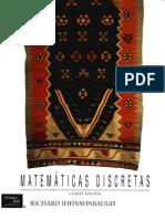 Matematicas Discretas - JOHNSONBAUGH 4edi
