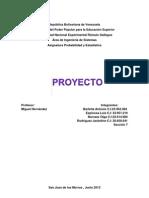 Proyecto de Probabilidad y Estadistica