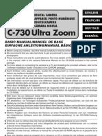 Olympus C-730UZ Basic Manual
