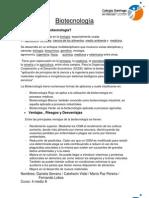 resumenBiotecnología