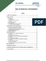 Manual de Operacion y Mantenimiento-III.doc