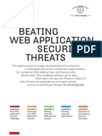 Beating Web Application Security Threats