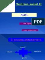 Analisi Foda Clases 2013. Dra. Agueda