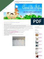 casa de fifia blog de decoração _ porta de correr tutorial, faça você mesmo