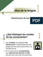 Los Sonidos de La Lengua
