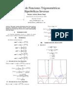 Derivadas Trigonometricas Hiperbolicas Inversas