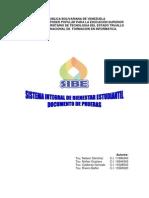 Documento de Prueba SIBE