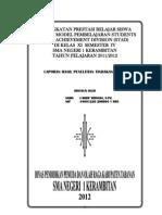 Model Pembelajaran Stad 20111