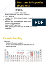 Ch 12-Structures and Properties of Ceramics