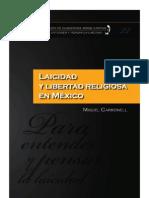 Laicidad y Libertad Religiosa Miguel Carbonell 1