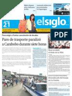 Elsiglo Maracay Viernes 21-06-2013