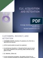 8. CLV, Retention, Acquisition