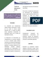 ANALISIS DE INSTRUMENTOS DE EVALUACIÓN