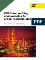 Creep Resisting Steels ESAB
