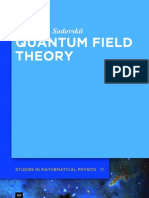 Quantum Field Theory 2013