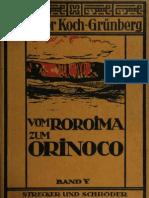 VOM ROROIMA ZUM ORINOCO BAND V
