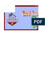 EXCEL Formulaes