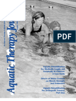Aquatic Therapy Journal Aug 2005 Vol 7