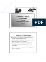 Extrusion Coating Substrates