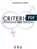 Criterios-Lenguaje No Sexista