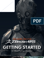 ZBrush4R5 Getting Started Guide