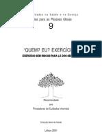 Exercício físico no Idoso