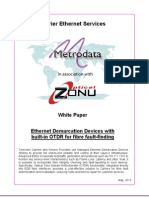 Ethernet Demarcation Devices  With Built in OTDR