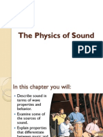 the physics of sound ppt