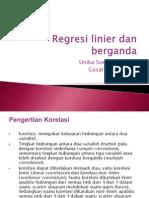 3 Regresi Linier Dan Berganda