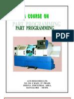 Part Programming Manual