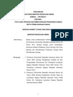 Tata Cara Operasi dan Pemeliharaan Prasarana Sungai dan Pemeliharaan Sungai.docx