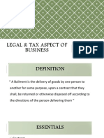 Legal & Tax Aspect of Business (1)
