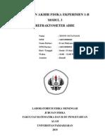 Refraktometer ABBE Tenny