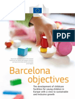 Barcelona Objectives - Childcare Facilities for Young Children in Europe